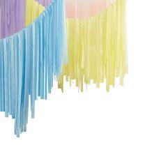 Backdrop Plafond Streamers Pastel