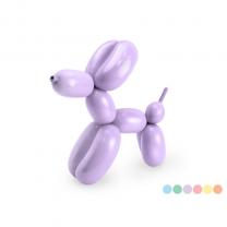 Modelleerballonnen Pastel  met pomp