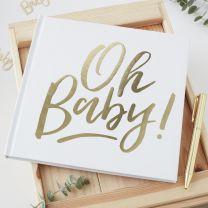 Oh Baby! Babyshower Gastenboek