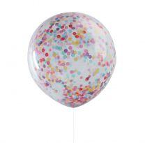 Confetti Ballonnen XL Multi color 3 st.
