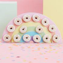 Regenboog Donut Standaard