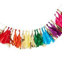 Multi Color Tassel Slinger