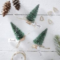 Plaatskaarthouders Kerstboom 6 st