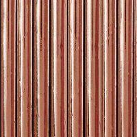 Papieren rietjes rosé goud
