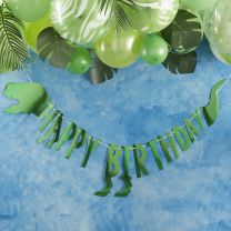 Dinosaurus Happy Birthday slinger