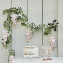 Blush Roze Regen decoratie slinger