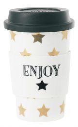 Coffee Mug Gold Stars