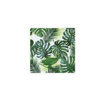 Palmbladeren servetten