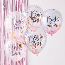Confetti Ballonnen Baby Girl Twinkle Twinkle