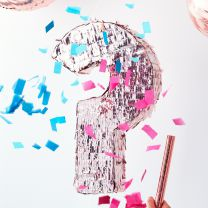 Gender Reveal Rose gouden Pinata