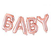 Rose gouden ballonnen slinger baby Twinkle Twinkle Ginger Ray