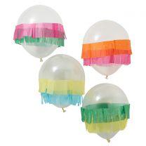 Ballonnen met tassel rand Viva la Fiesta