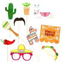 Viva La Fiesta Mexicaanse Photobooth props