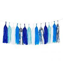 Tassel Slinger Blauw XL