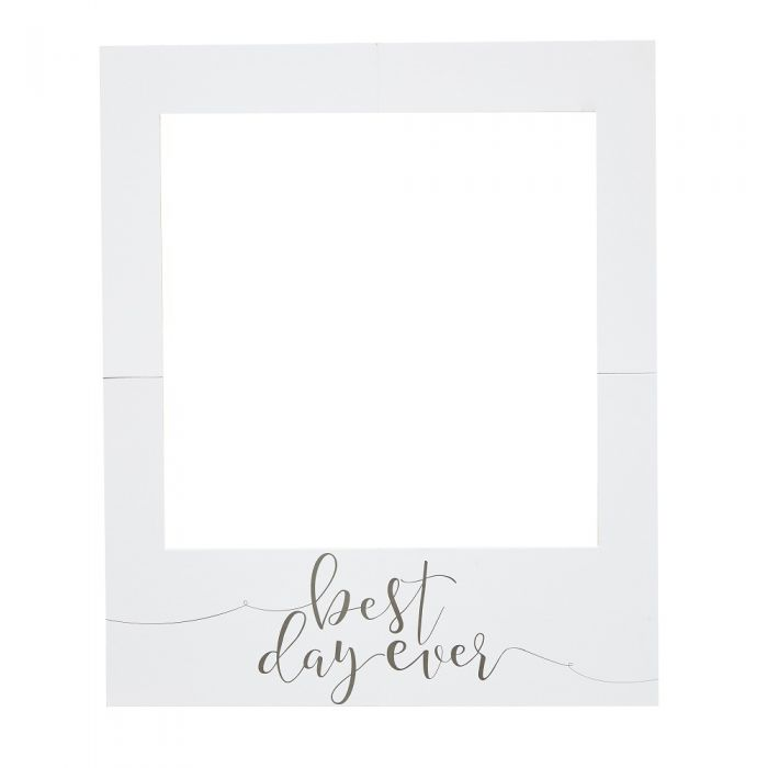 Best Day Ever Polaroid Frame Rustic Country | Sweet Food Styling
