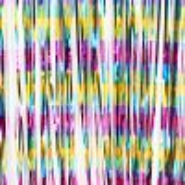 Feestgordijn Multi Color