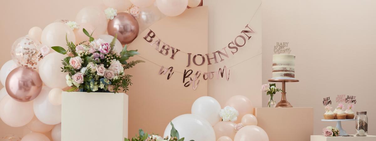 Babyshower Baby in Bloom