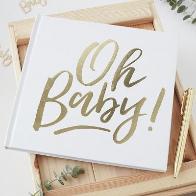 Oh Baby! Baby shower gastenboek
