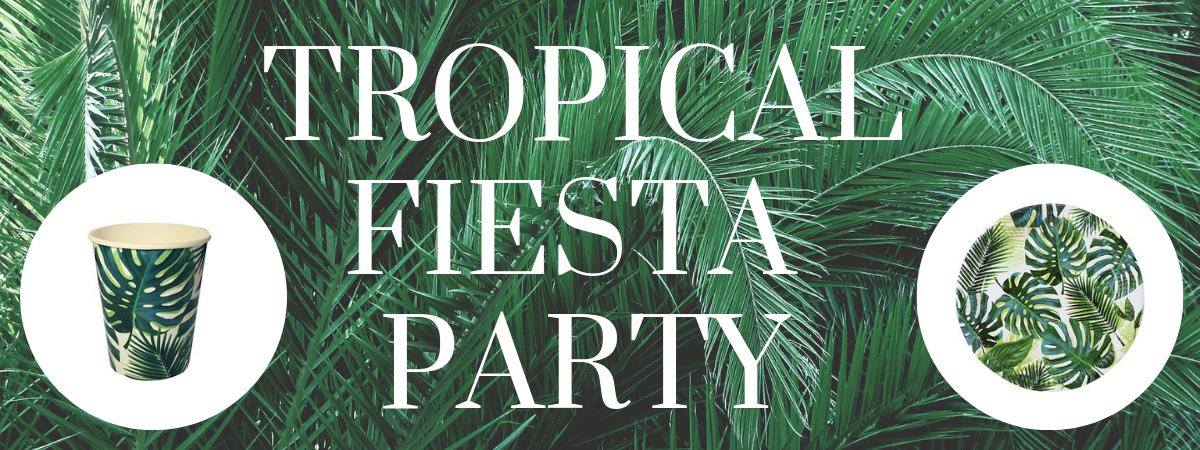 Palmbladeren feestversiering