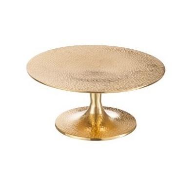 Gouden taartplateau
